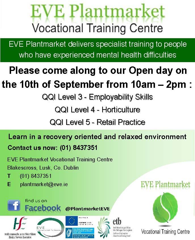 EVE Plantmarket Open Day Sept