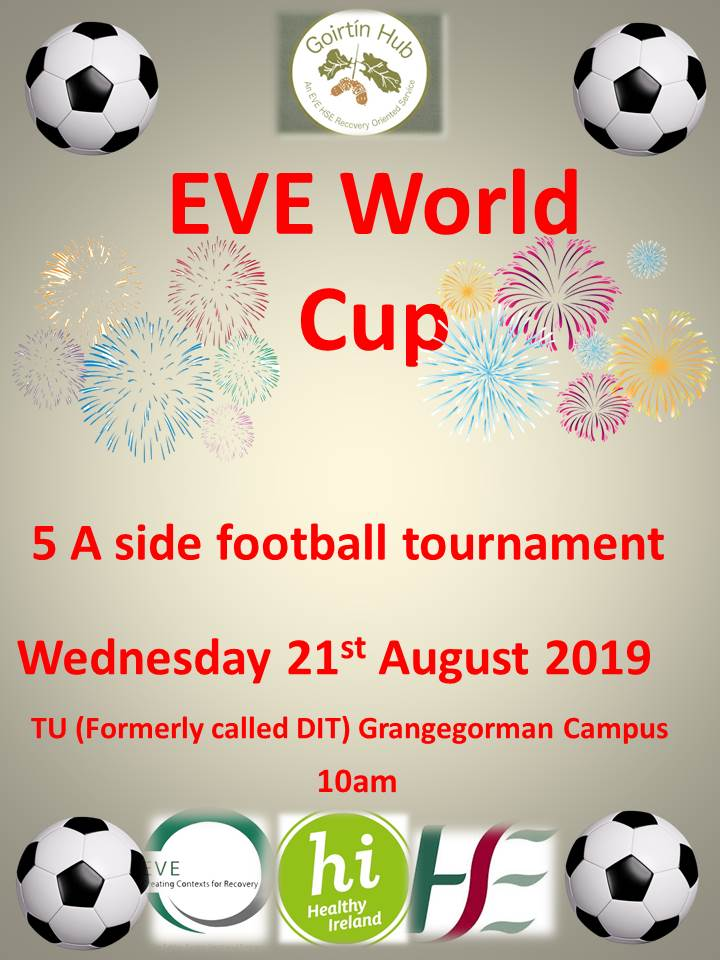 EVE World Cup Poster