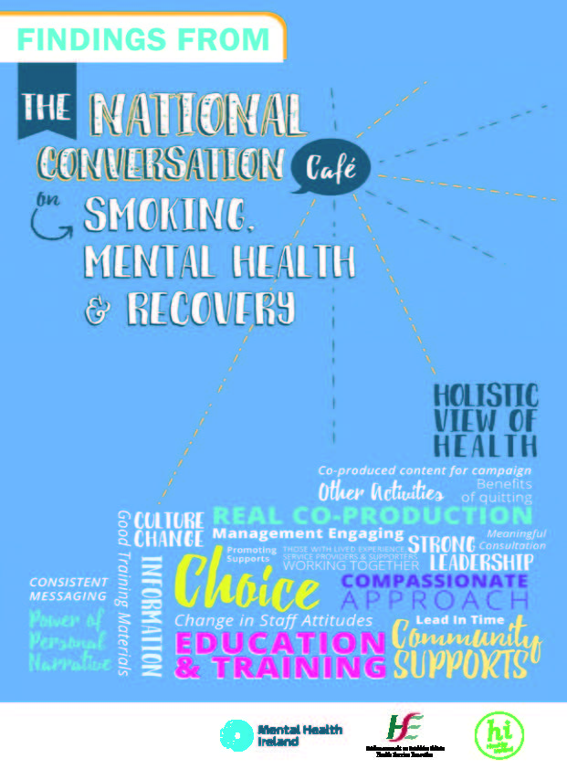 Recovery Conversation Cafe Findings Report Cover