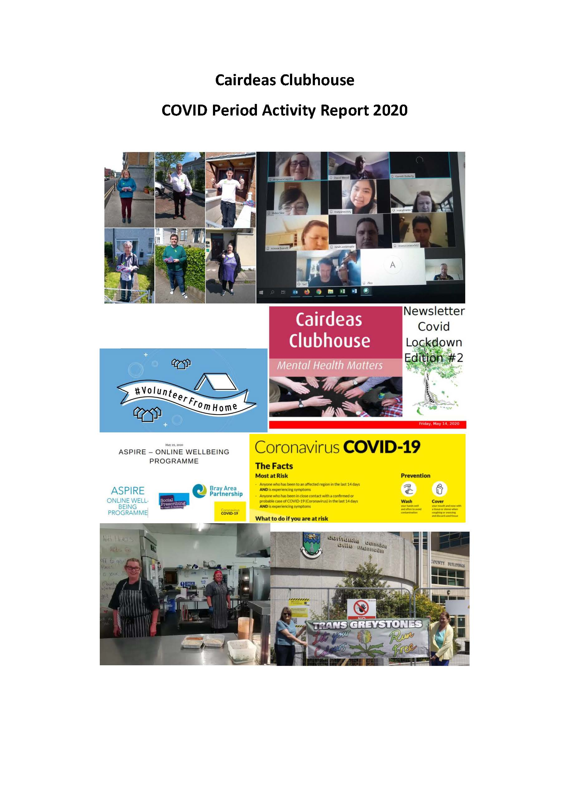 Cover_CC Covid Activity Report Aug2020