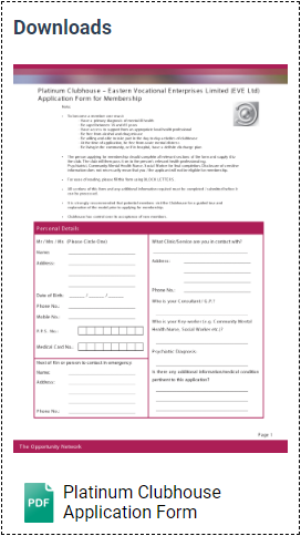 Platinum Application Form